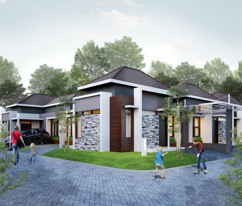 Small Space Interior Kirana Residence At Taman Jaya Tasikmalaya, Indonesia Tasikmalaya, Indonesia Facade-View-3  6450