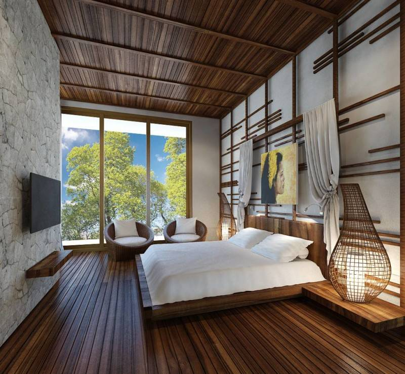 Small Space Interior Cantri Town House Bali, Indonesia Bali, Indonesia Bedroom  6506