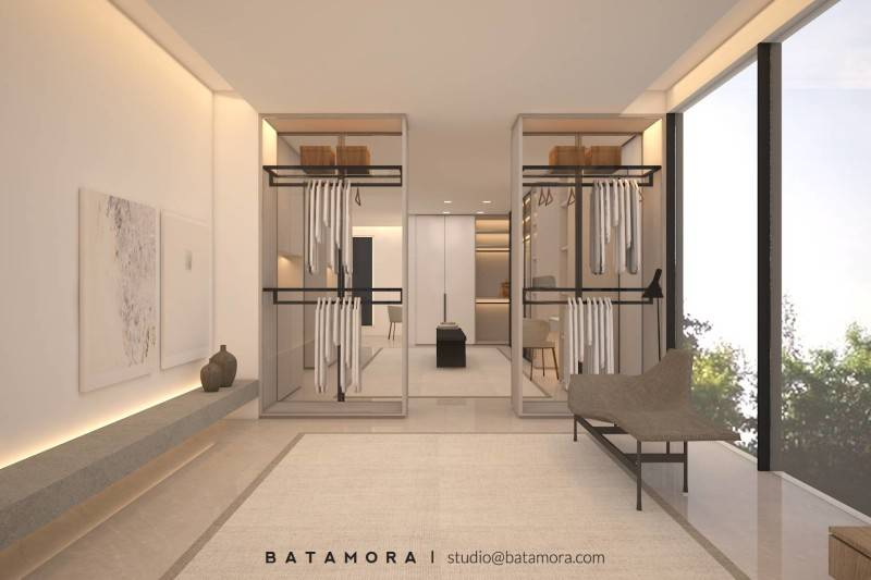 Batamora Martimbang House At Kebayoran Baru Jakarta Jakarta Master Bedroom - Wardrobe  2700