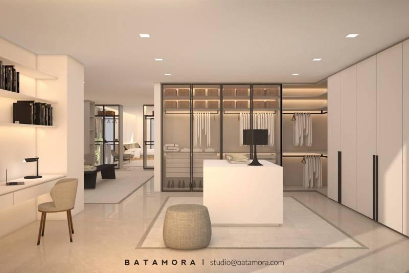 Batamora Martimbang House At Kebayoran Baru Jakarta Jakarta Master Bedroom - Wardrobe  2702