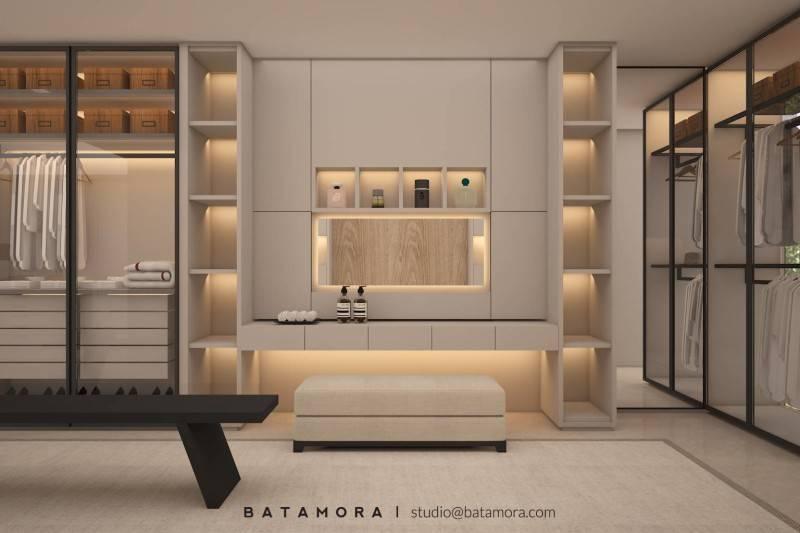 Batamora Martimbang House At Kebayoran Baru Jakarta Jakarta Master Bedroom - Wardrobe  2704