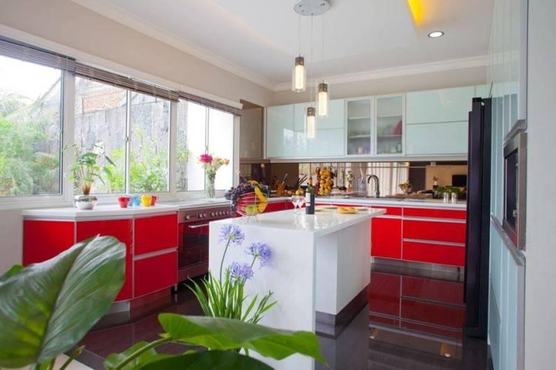 Zeno Living Modern Minimalist Kitchen-Red And White Jakarta  Jakarta  Modern-Minimalist-Kitchen-Red-And-White  2755