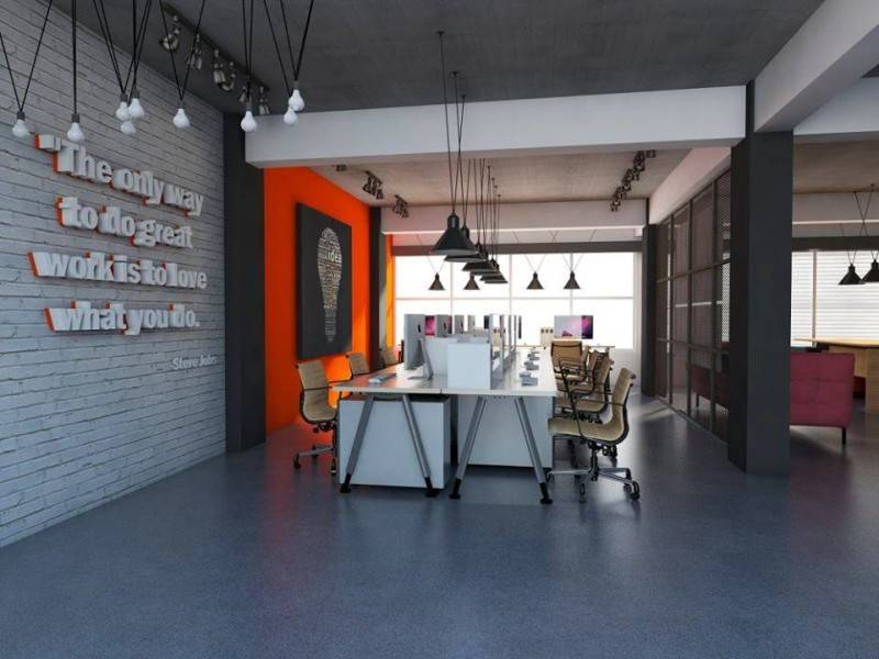 Tala Desco Sisfo Office Renovation Collaboration Tala Desco & Tb Studio Bandung Jakarta Jakarta Working Area  3013