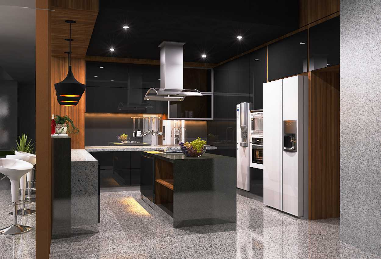 Gilbert Yohannes Voerman R8 House Batam Batam Kitchen-Set Modern 29715