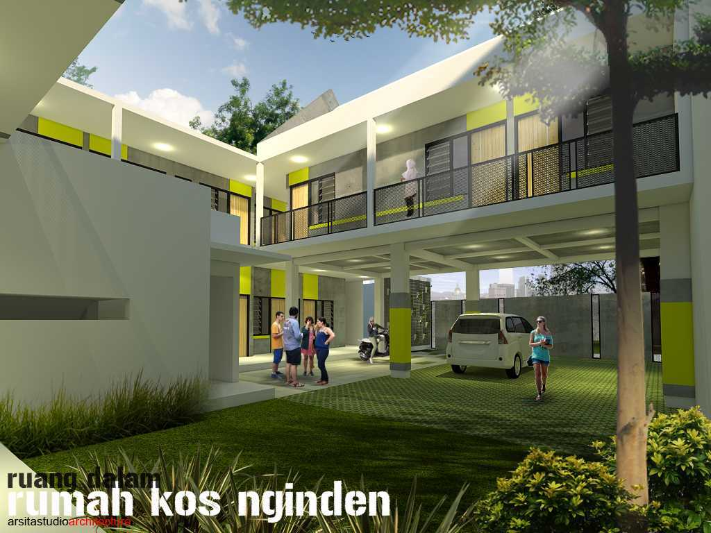 Arsita Studio Architecture Rumah Kos And Cafe Surabaya, Jawa Timur Surabaya, Jawa Timur Ruang-Dalam  19838