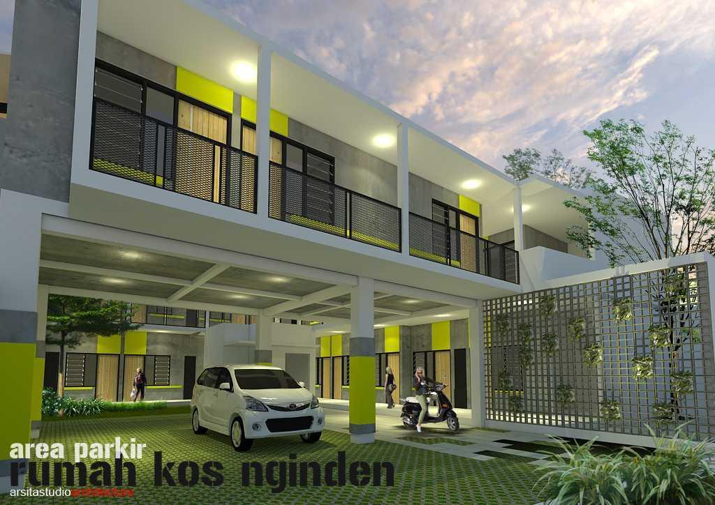 Arsita Studio Architecture Rumah Kos And Cafe Surabaya, Jawa Timur Surabaya, Jawa Timur Area-Parkiran  19839