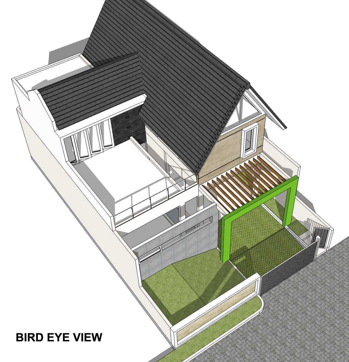 Arsita Studio Architecture Rumah Atap Curam Gresik, Jawa Timur Gresik, Jawa Timur Denah-Lantai-Atap  20116