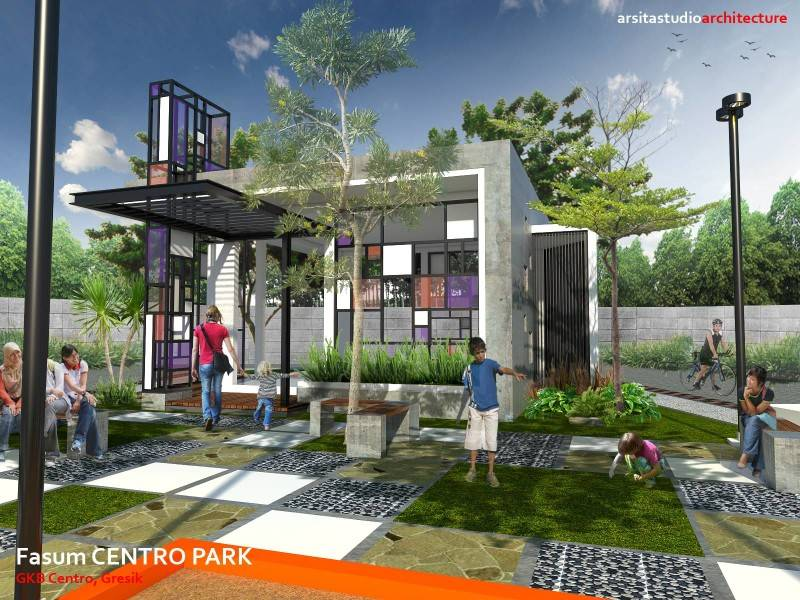 Arsita Studio Architecture Centro Park  Gresik, Jawa Timur Gresik, Jawa Timur Centro-Park-Day-Vision  3270