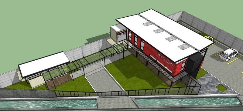 Arsita Studio Architecture Maco Cafe Gresik, Jawa Timur Gresik, Jawa Timur Floor-All Industrial 3287