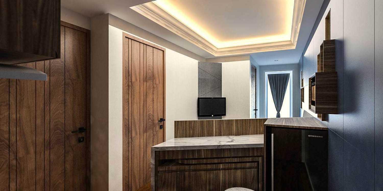 Graharupa Cipta Kirana Aspen Apartment Fatmawati Fatmawati Kitchen Modern 17434