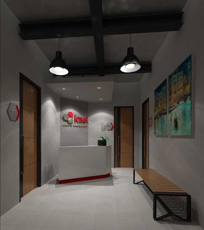 Foto inspirasi ide desain lobby industrial 8 oleh Graharupa Cipta Kirana di Arsitag