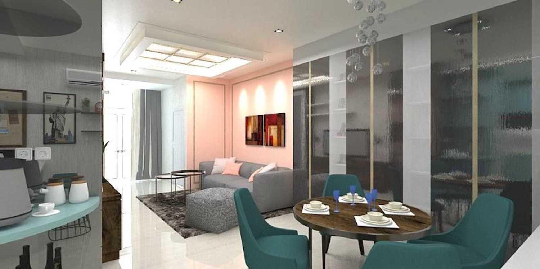 Foto inspirasi ide desain ruang makan klasik Living and dining area oleh Graharupa Studio di Arsitag