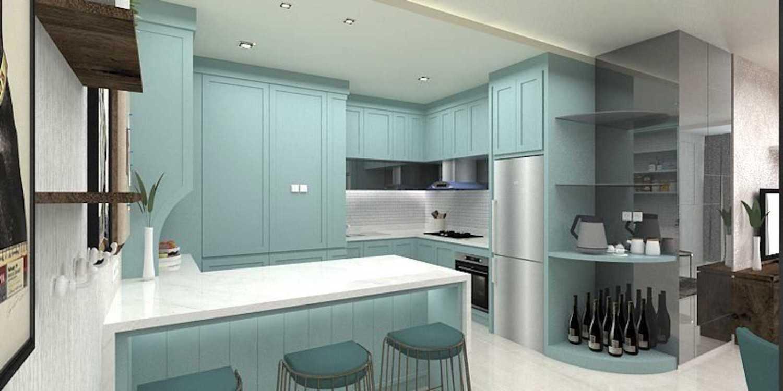 Foto inspirasi ide desain apartemen klasik Pantry oleh Graharupa Cipta Kirana di Arsitag