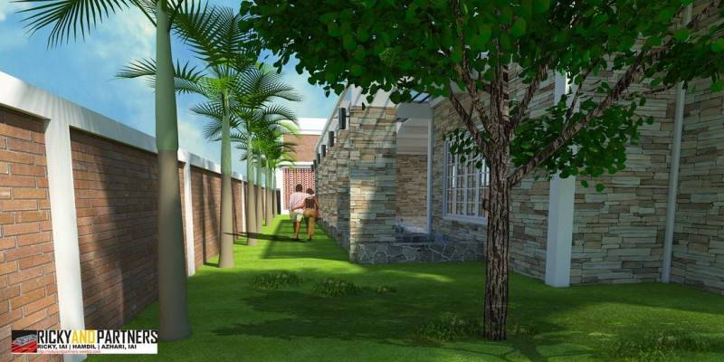 Rickyandpartners Architect Studio Y House At Merauke Papua, Indonesia Papua, Indonesia Back-Yard Kontemporer 3326