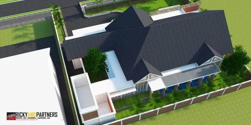 Rickyandpartners Architect Studio Y House At Merauke Papua, Indonesia Papua, Indonesia Back-Aerial-View Kontemporer 3336