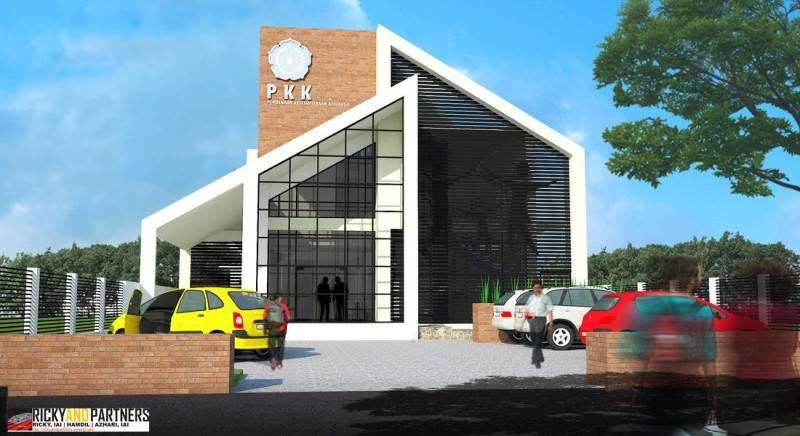 Rickyandpartners Architect Studio Pkk Service Building At Pontianak West Kalimantan, Indonesia West Kalimantan, Indonesia Front-View  3352