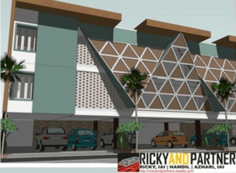 Rickyandpartners Architect Studio Boarding House At Media Pontianak, West Kalimantan, Indonesia Pontianak, West Kalimantan, Indonesia Carport-View Modern 3380
