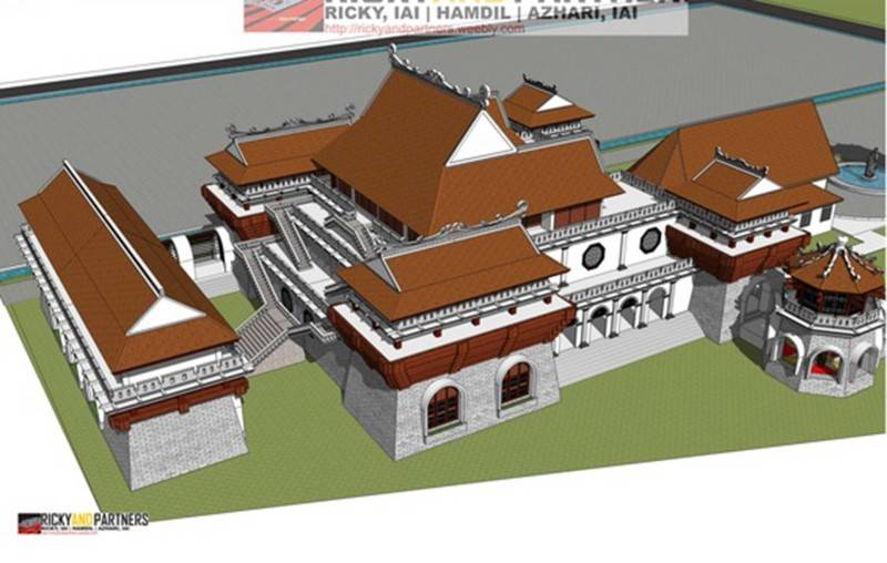 Rickyandpartners Architect Studio Stella Maris Church At Pontianak West Kalimantan, Indonesia West Kalimantan, Indonesia Bird-Eye-View Tradisional 3394