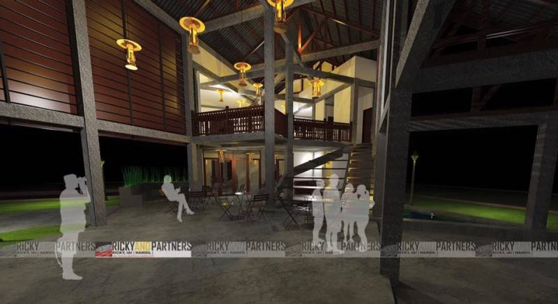 Rickyandpartners Architect Studio Long House Cafe At Pontianak West Kalimantan, Indonesia West Kalimantan, Indonesia Inside-View Tradisional 3455