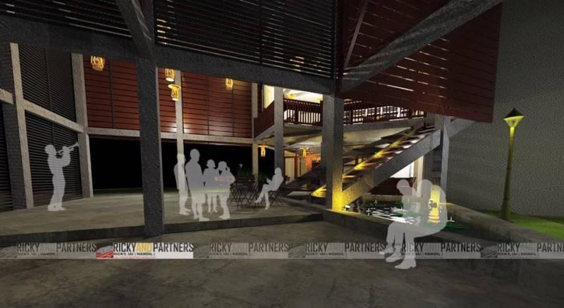 Foto inspirasi ide desain tangga tradisional Stair-view oleh RICKYANDPARTNERS Architect Studio di Arsitag