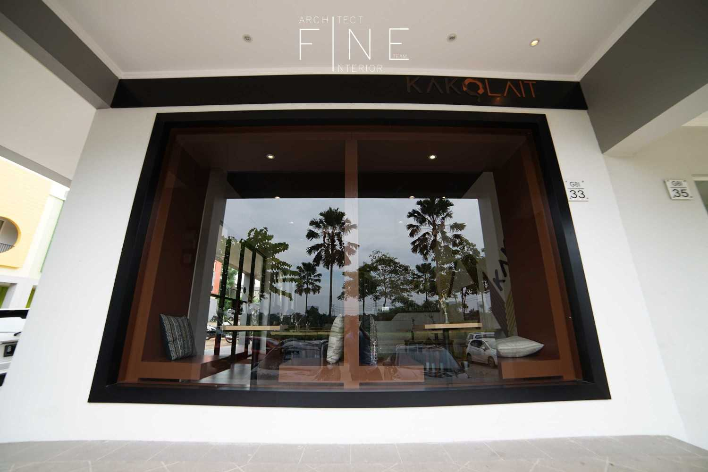 Foto inspirasi ide desain restoran minimalis Window oleh Fine Team Studio di Arsitag