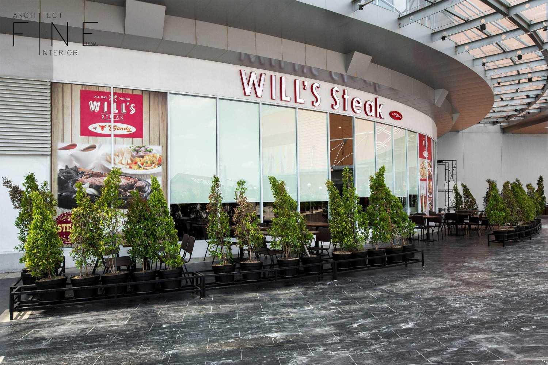 Fine Team Studio Will's Steak Mall Cipianng Indah Mall Cipinang Indah, Jakarta Mall Cipinang Indah, Jakarta Outdoor Dining Area Modern 16679