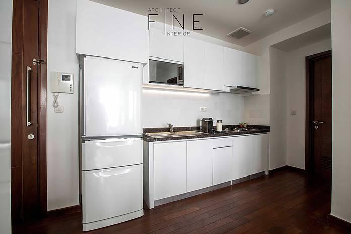 Foto inspirasi ide desain dapur Kitchen oleh Fine Team Studio di Arsitag