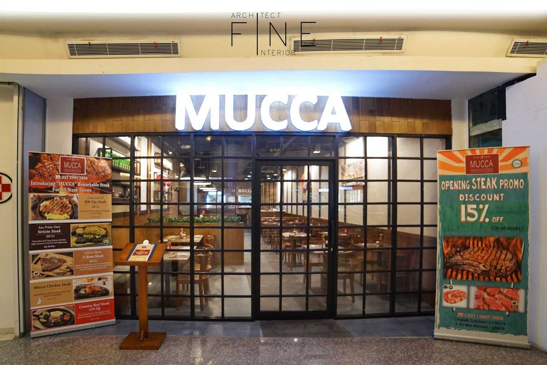Foto inspirasi ide desain restoran 10public-areamucca01 oleh Fine Team Studio di Arsitag