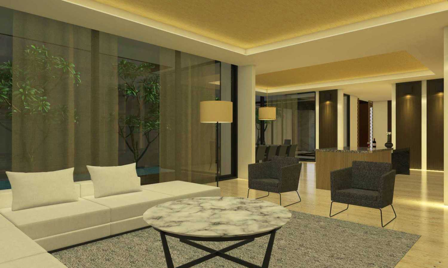 Welly Kusumo Jh Residence Alam Sutra Alam Sutra Livingroom  15214