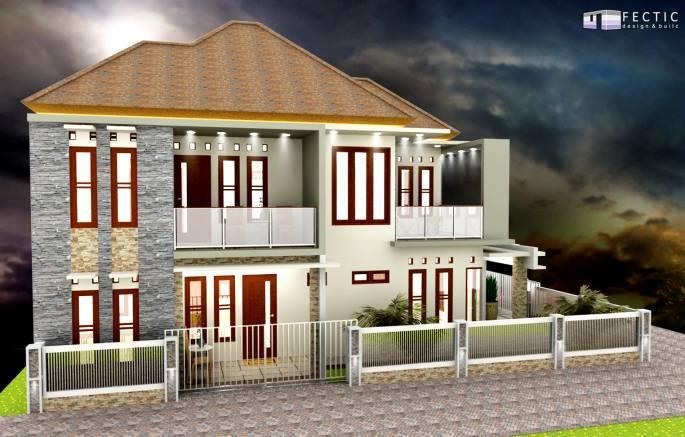 Pt. Fectic Maha Karya Personal House 3 Godean, Yogyakarta Godean, Yogyakarta Front-View Modern 5104