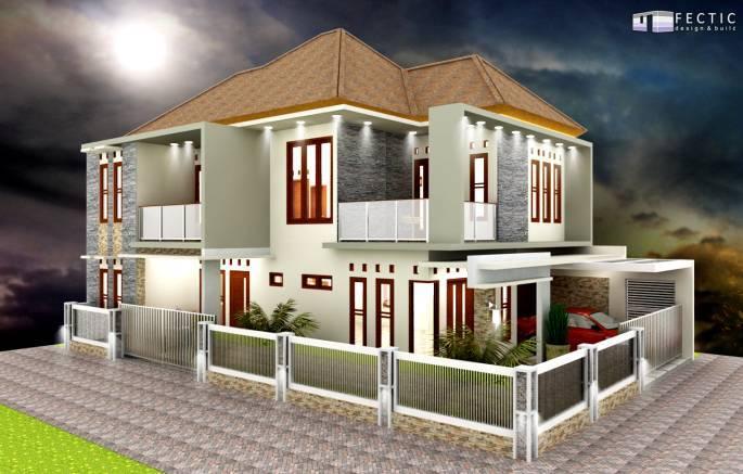 Pt. Fectic Maha Karya Personal House 3 Godean, Yogyakarta Godean, Yogyakarta Front-View2- Modern 5105
