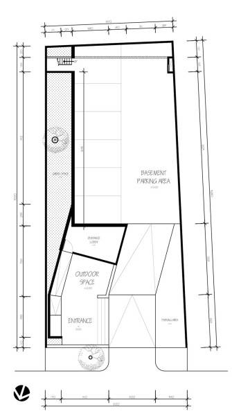 Para Architects Lembong Land By Para Architects Bandung, West Java, Indonesia Bandung, West Java, Indonesia 1St-Floor-Plan Modern 4600