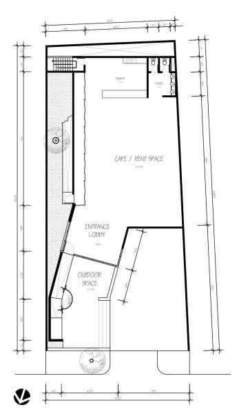 Para Architects Lembong Land By Para Architects Bandung, West Java, Indonesia Bandung, West Java, Indonesia 2Nd-Floor-Plan Modern 4601