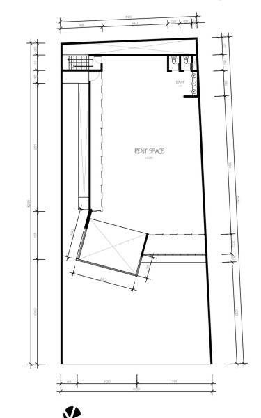 Para Architects Lembong Land By Para Architects Bandung, West Java, Indonesia Bandung, West Java, Indonesia 3Rd-Floor-Plan Modern 4602