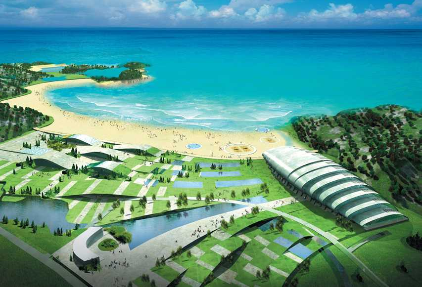 Tau Architect Ningbo Waterpark Ningbo China Ningbo China Swimming Pool Kontemporer 11106