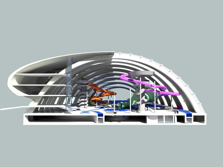 Tau Architect Ningbo Waterpark Ningbo China Ningbo China Section2 Kontemporer 11108