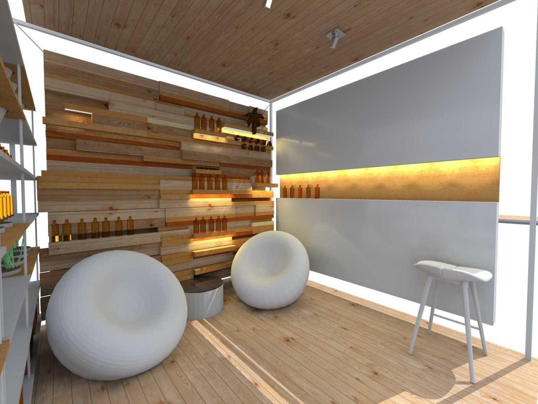 Foto inspirasi ide desain display area minimalis Interior oleh TAU Architect di Arsitag