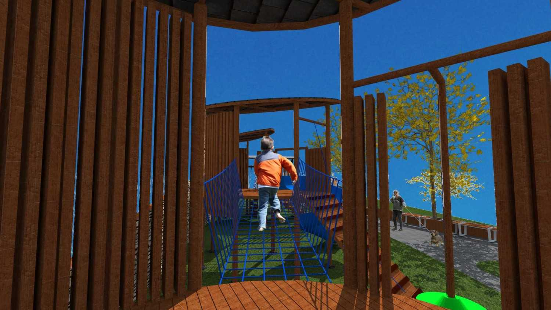 Tau Architect Hollland Park Playground Batu Malang Batu Malang Holland-Park Modern 11119