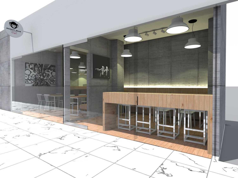 Foto inspirasi ide desain restoran Monkey-additional-space oleh TAU Architect di Arsitag