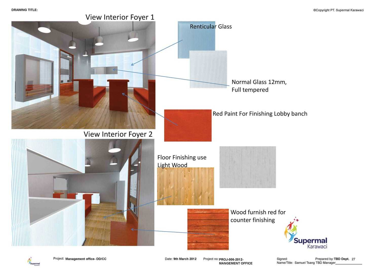 Tau Architect Supermal Karawaci Management Office Karawaci Karawaci Masterplan Industrial 13829