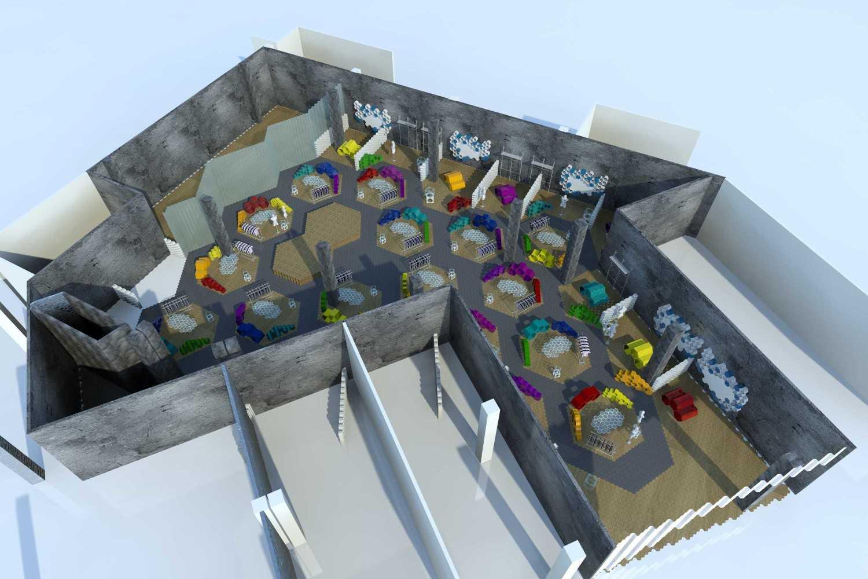Tau Architect Supernova Supermal Karawaci Supermal Karawaci Site Plan Modern 13835