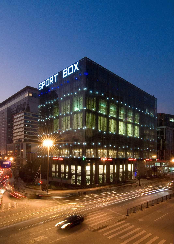 Tau Architect Sportsbox Shanghai,china Shanghai,china Building View At Night Modern 13881