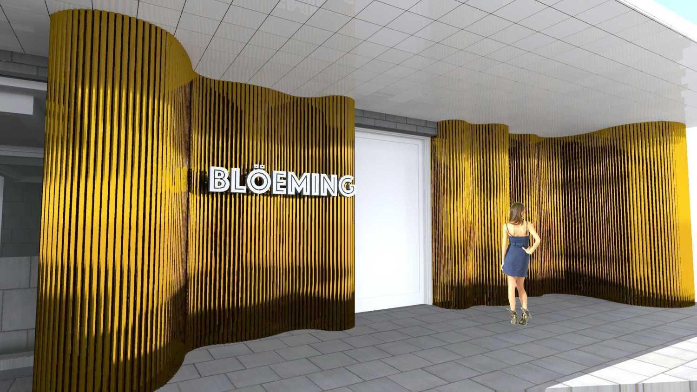 Tau Architect Bloeming Fx Mall Sudirman Jakarta Fx Mall Sudirman Jakarta Entrance  16730