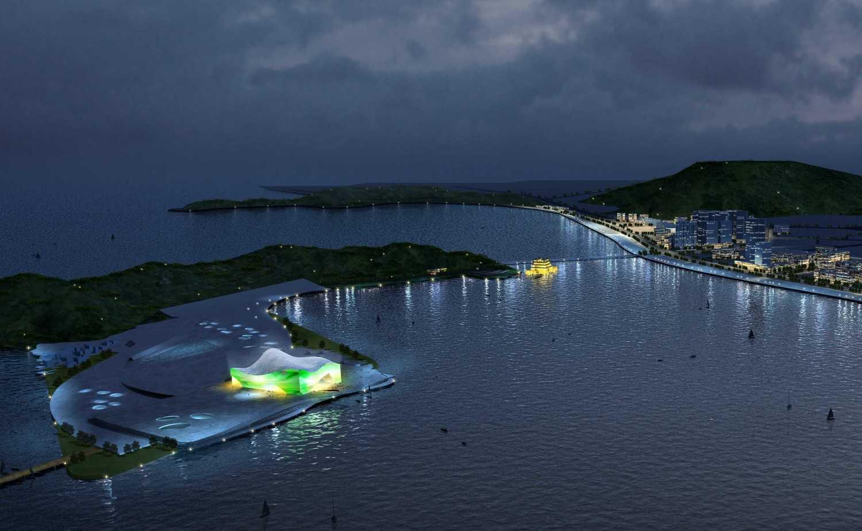 Foto inspirasi ide desain exterior tradisional Bird eye view oleh TAU Architect di Arsitag