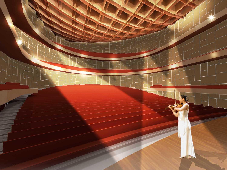 Tau Architect Zhuhai Opera House Zhuhai,china Zhuhai,china Hall-New Modern 16737