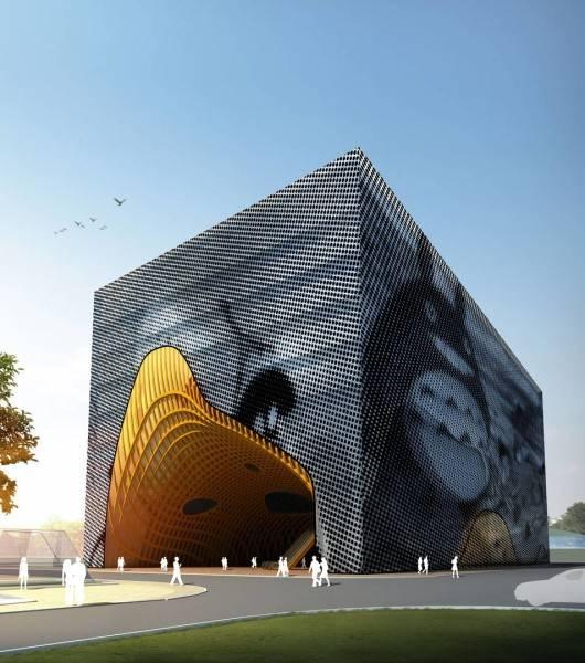 Tau Architect Animation Museum At Hangzhou China China Museum-Hall Kontemporer 3681