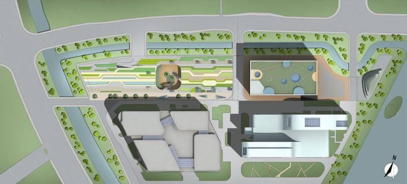 Tau Architect Animation Museum At Hangzhou China China Site-Plan Kontemporer 3683