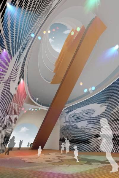 Tau Architect Animation Museum At Hangzhou China China Museum-Hall-Inside-View Kontemporer 3686