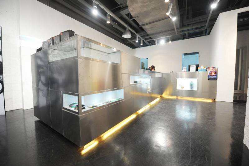Tau Architect Source Store At Shanghai China China Etalase-Cashier Industrial 3689
