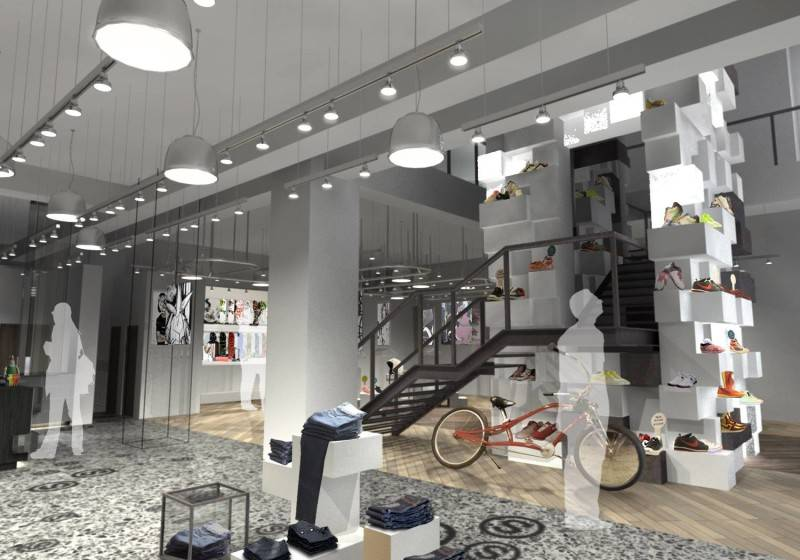 Tau Architect Source Store At Shanghai China China Shop-Lighting Industrial 3692